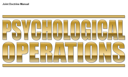B-GJ-005-313/FP-001 Psychological Operations Joint Doctrine, Canadian Forces