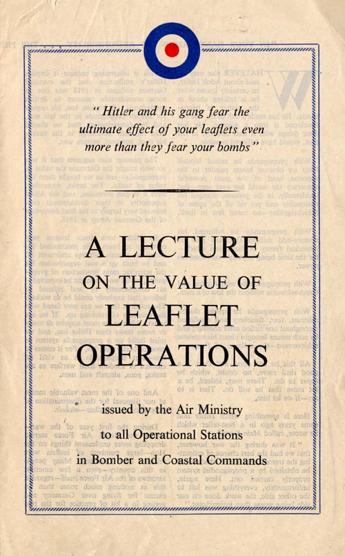 A Lecture on the Value of Leaflet Operations