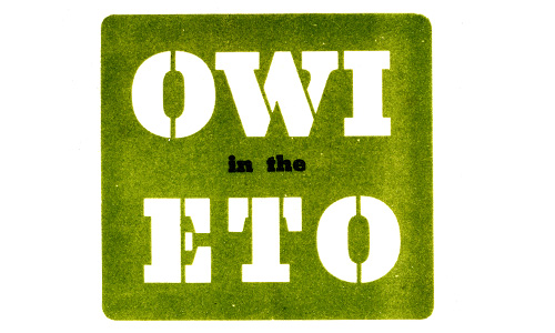 OWI in the ETO booklet
