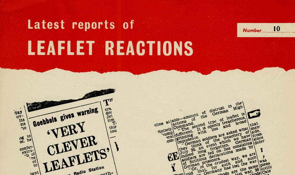 Latest Reports of Leaflet Reactions