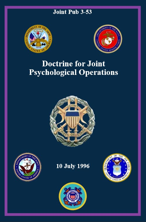 Joint Pub 3-53, Doctrince for Joint Psychological Operations