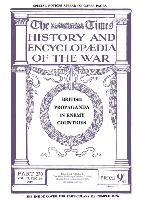The Times History and Encyclopaedia of the War