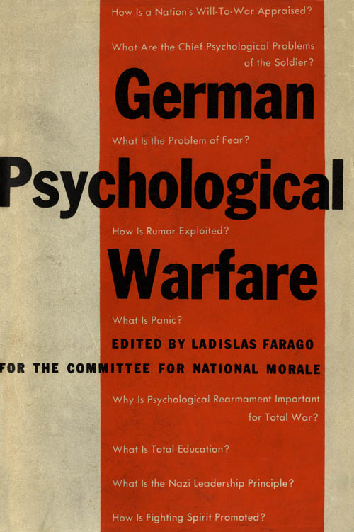 German Psychological Warfare