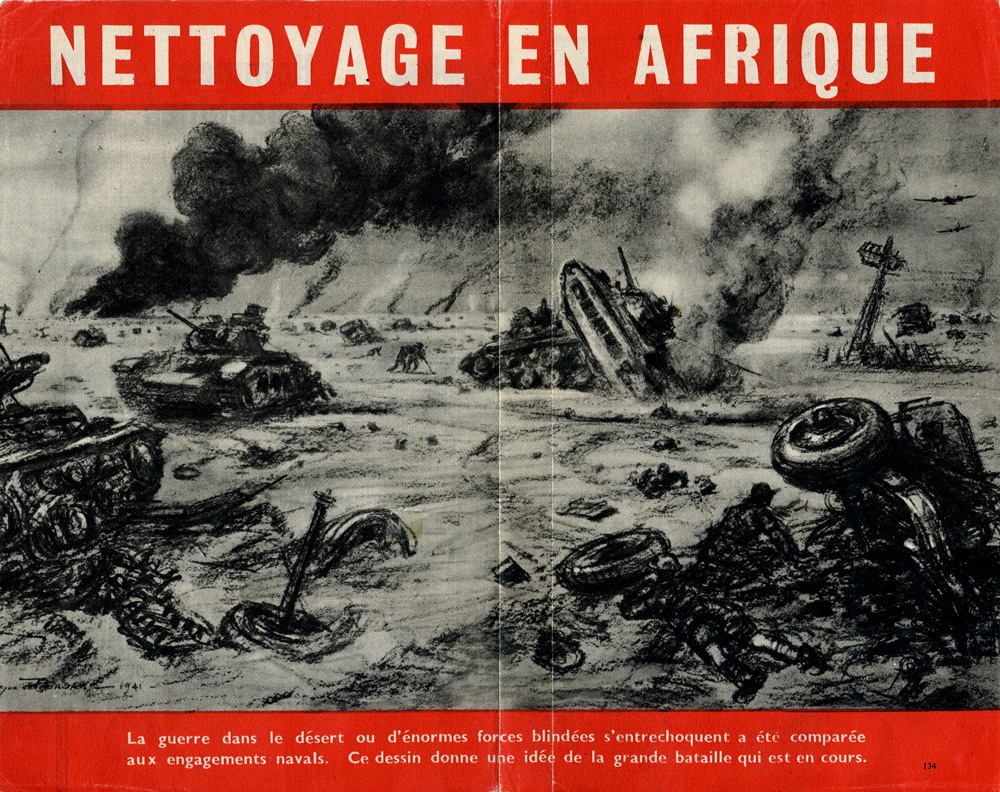 Random PSYOP leaflet - Clean up in Africa