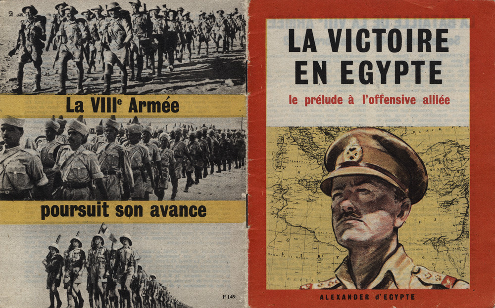 Random PSYOP leaflet - 8th Army Booklet - Victory in Egypt: Prelude to the Allied Offensive