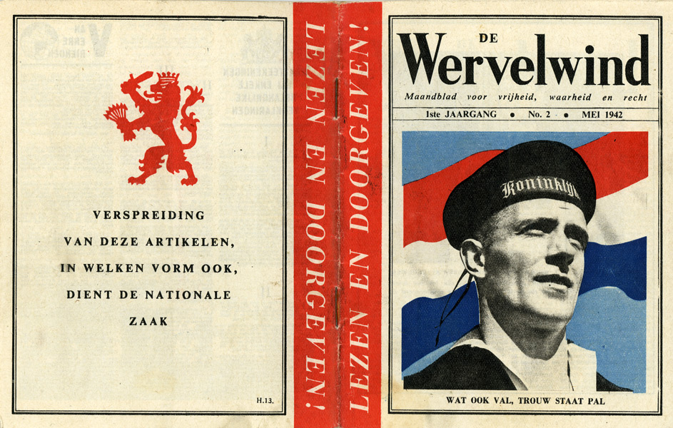 Random PSYOP leaflet - The Whirlwind, No. 2, May 1942