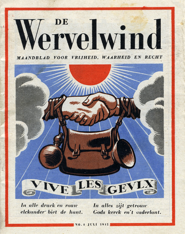Random PSYOP leaflet - The Whirlwind, No. 4, July 1942