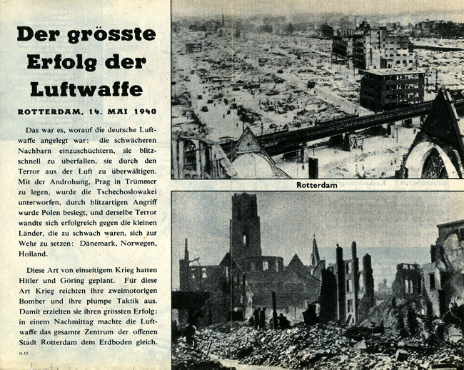 Air Raid Leaflet, 2