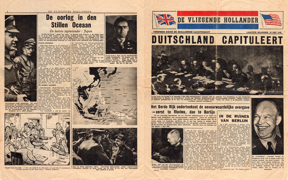 Random PSYOP leaflet - The Flying Dutchman, Last number, 10 May 1945