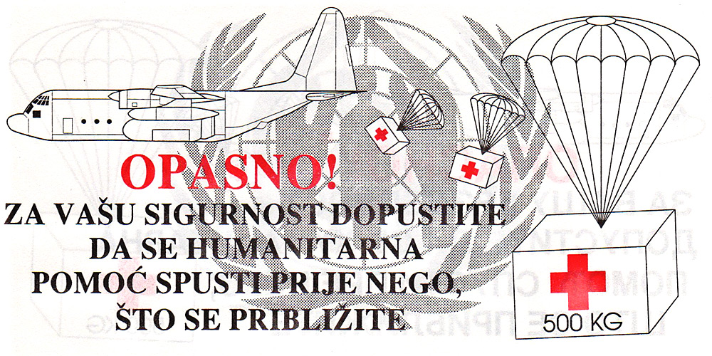 United Nations PSYOP Leaflets to Bosnia, 1993