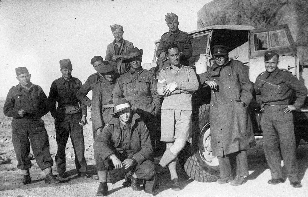 The 1st Army Field Propaganda Company in the Western Desert