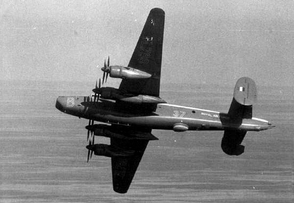 An RAF Shackleton bomber from 37 Squadron based in Aden
