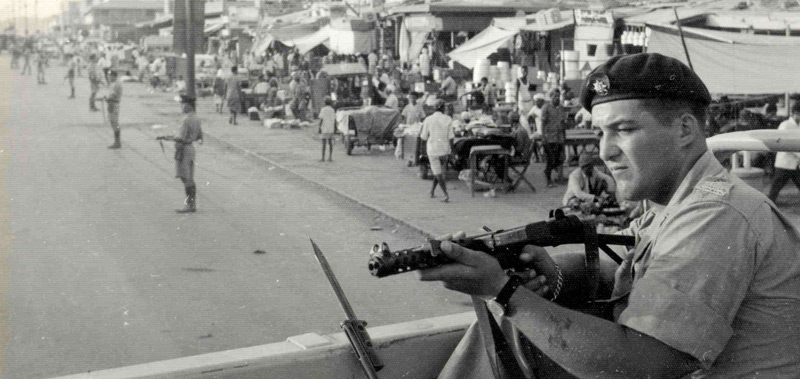 Aden 1966 - Cordon and Search operation by 3 R Anglian