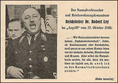 "The British ""Robert Ley"" Propaganda Postcard"