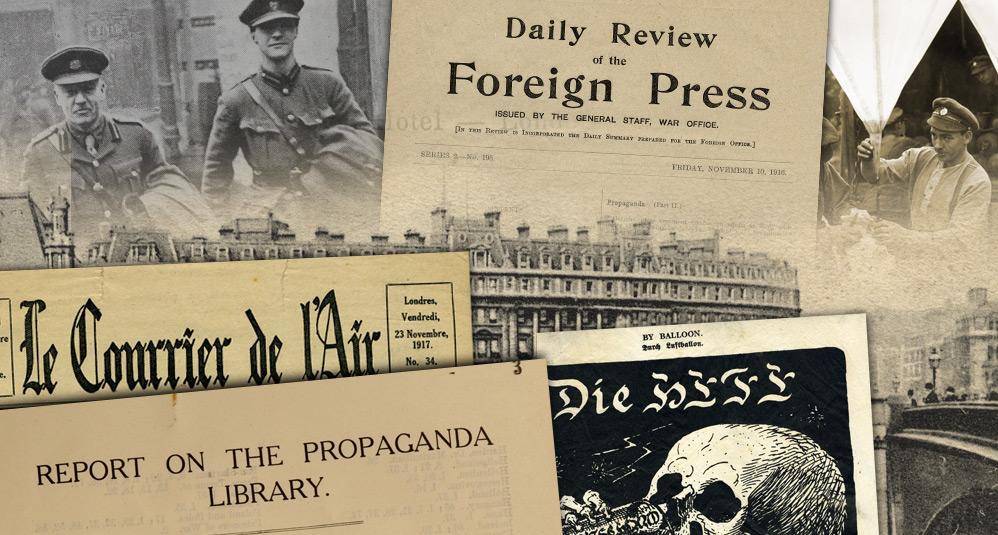 MI7 Press Control in the First World War