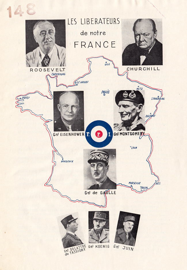 Random PSYOP leaflet - THE LIBERATORS of our France