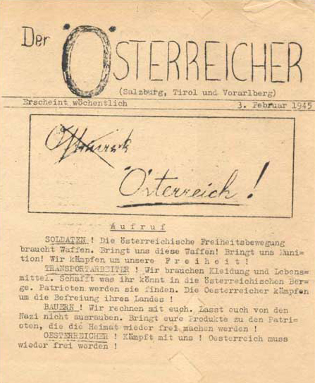 Operation Sauerkraut - Der Oesterreicher