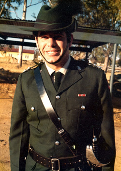 Captain Joe Smith, Rhodesian African Rifles, in 1977