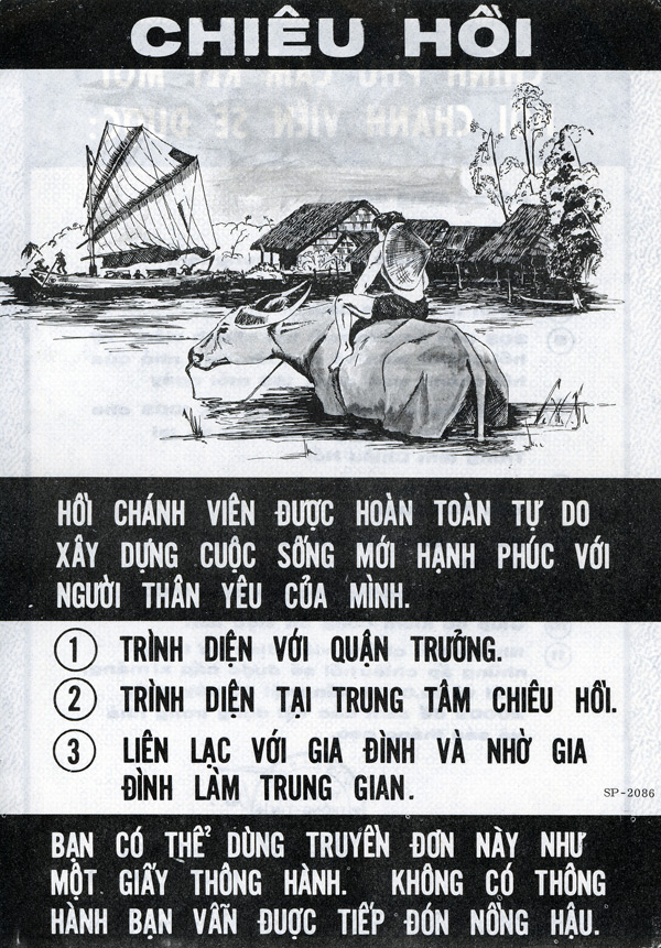 US PSYOP Leaflets to North Vietnamese, 1961-1975
