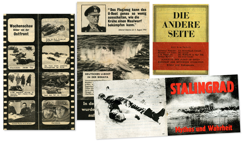 Propaganda Leaflet dropped by the RAF over Germany