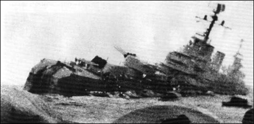 The last photograph of Cruiser ARA General Belgrano
