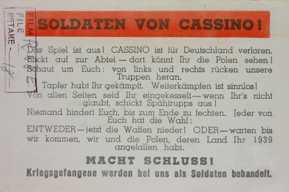 Soldiers of Cassino - 8-23