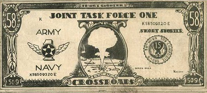 Cold War currency = Testing the Atomic Bomb