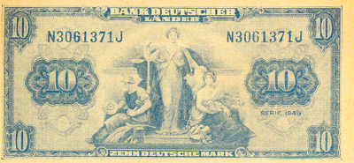 The Anti-Adenauer Communist Banknote