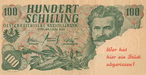 The Communist 100 Shilling Parody (Front)