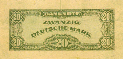 The back of the 1951 Festival Invitation Banknote