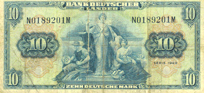 The Genuine West German 10 Mark Note�