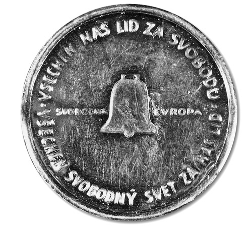 The Radio Free Europe 25 Heller Coin