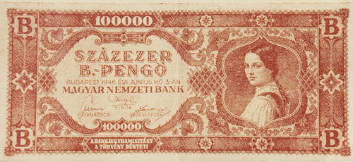 The Communist Parody of the Hungarian Banknote