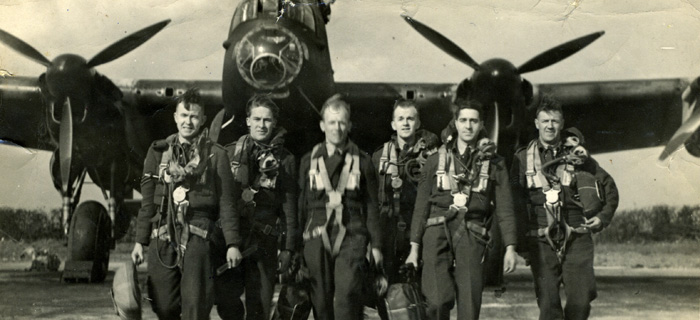 Y for York Dambusters aircrew