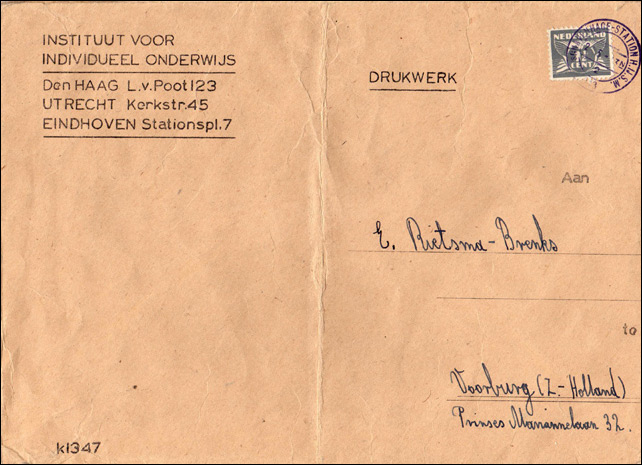 "Propaganda stamps - The Dutch ""Seagull"" Forgery"