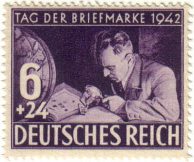 Third Reich Postage Stamp Day 1943