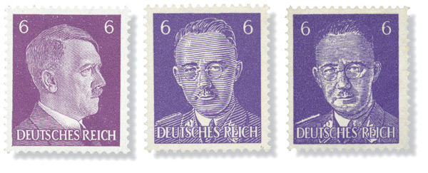 PWE forged Himmler postage stamps