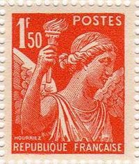 Propaganda stamps - The Iris Vignette