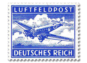 Propaganda stamps - The Luftfeldpost Military Air Permit Stamp Forgery