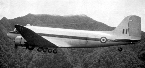 "Malayan Emergency RAF ""Voice"" aircraft"