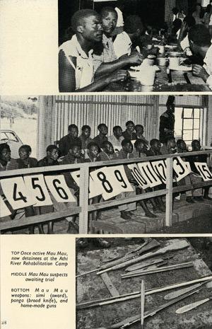 The Mau Mau in Kenya, page 28