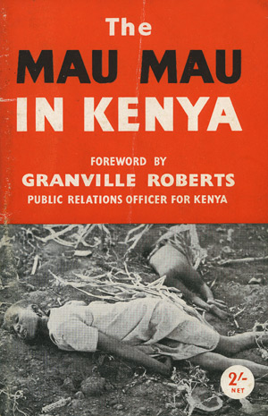 The Mau Mau in Kenya cover