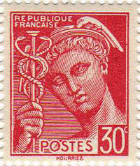 Propaganda stamps - The Mercury Vignette
