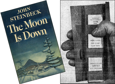 Operation Braddock inspired by John Steinbeck's novel 'The Moon Is Down'
