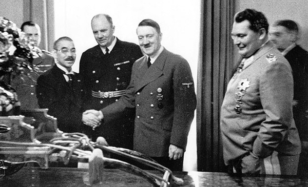 The Tripartite Pact signing