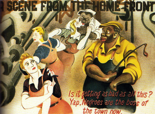 Scene from the Home Front - Japanese propaganda leaflet