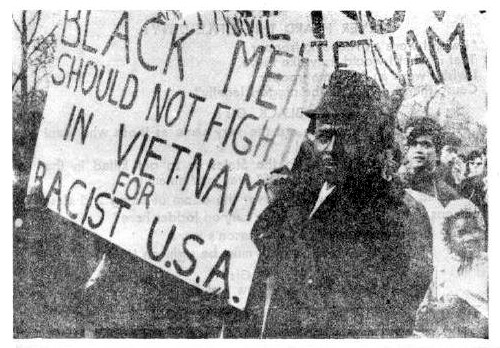 Black Men Should Not Fight in Vietnam for Racist America