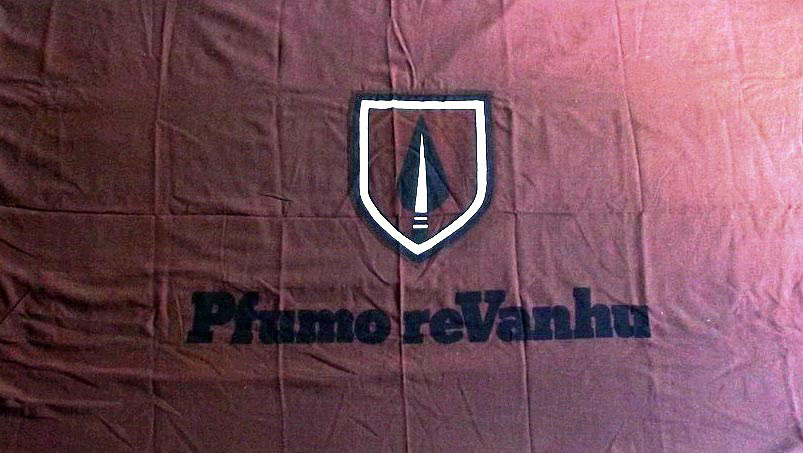 The Original Rhodesian Pfumo re Vanhu Flag