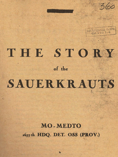 The Story of Sauerkrauts