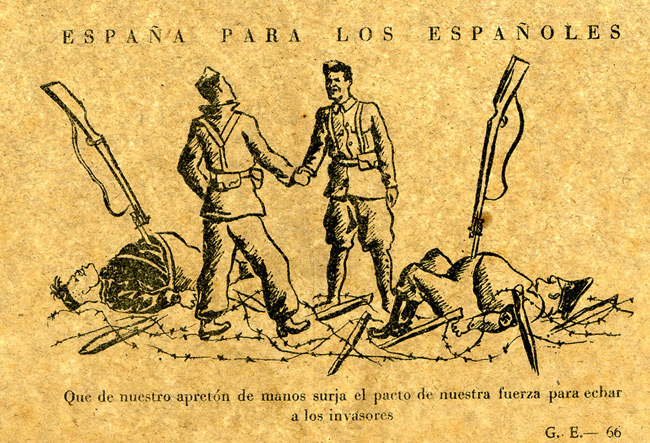Propaganda Leaflets of the Spanish Civil War, 1936-1939 by Dr Rod Oakland